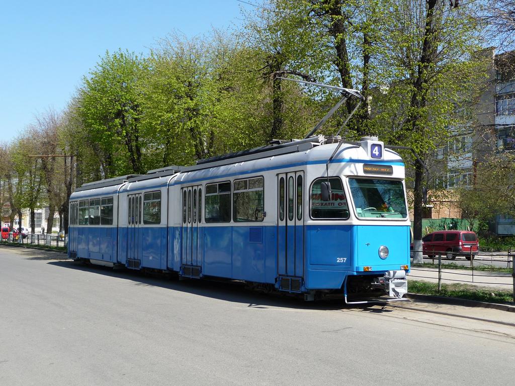 Tram Zürich Be 4/6 Typ Mirage in der Uk by hrs51, on Flickr