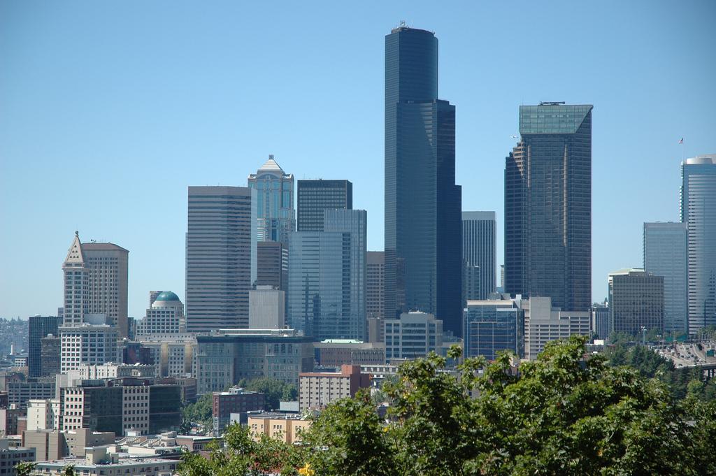 Seattle skyline, skyscrapers, buildings, by Wonderlane, on Flickr