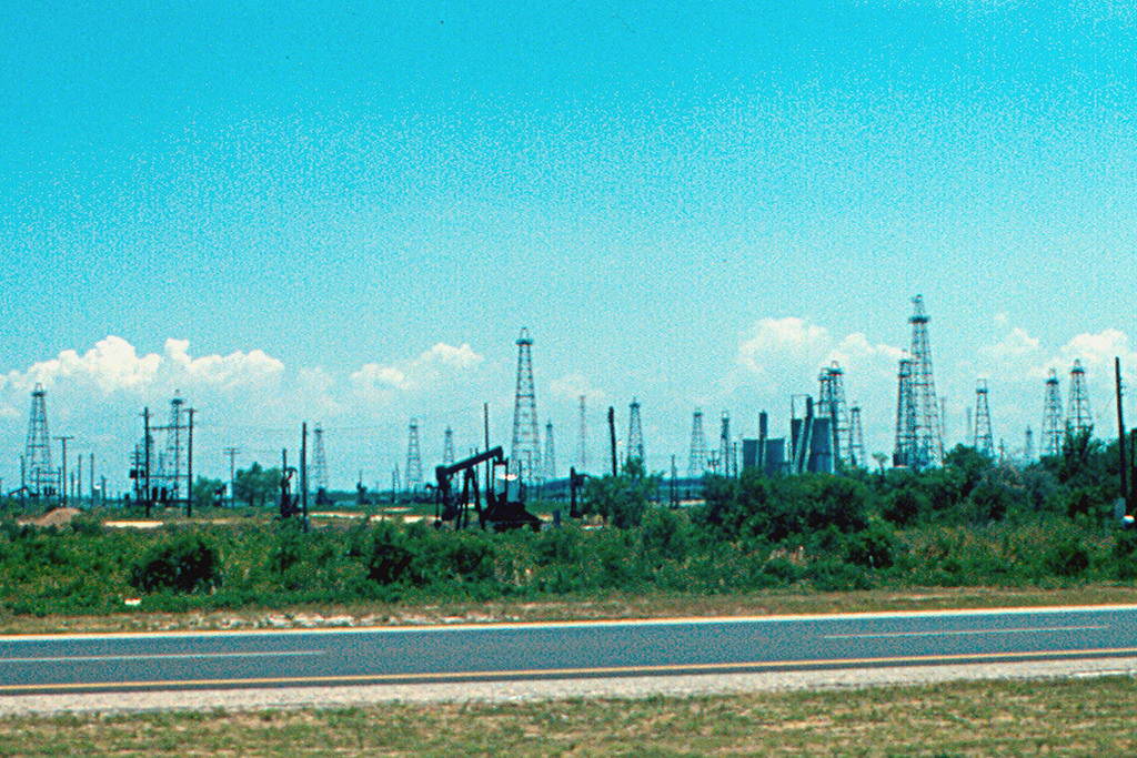 Baytown - Oil Wells at Texas Coast by roger4336, on Flickr