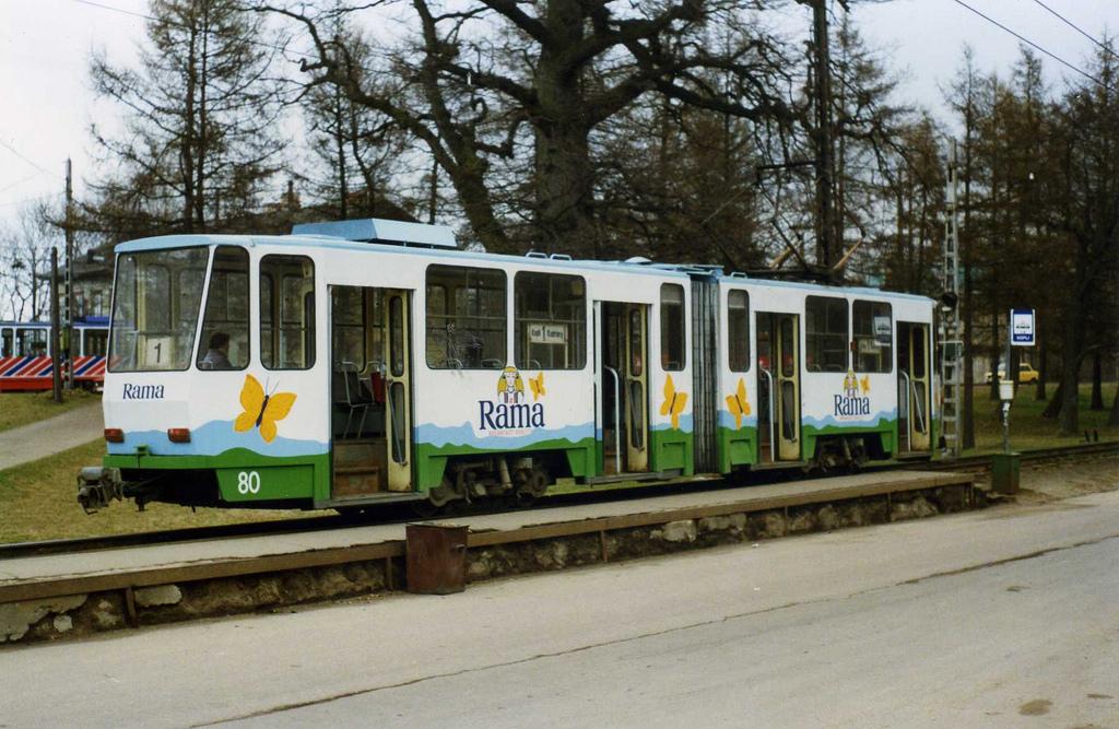 Tallinn Kopli -  Tatra KT4SU tram nr 80, by sludgegulper, on Flickr