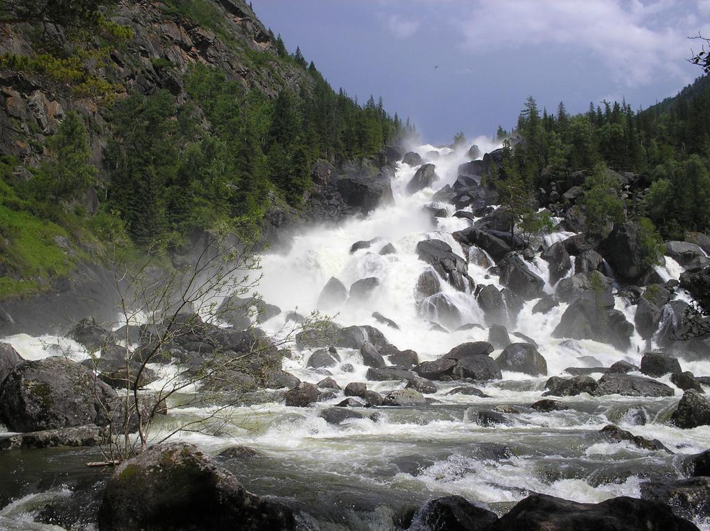 Водопад Учар (Чульчин� by Obakeneko, on Flickr