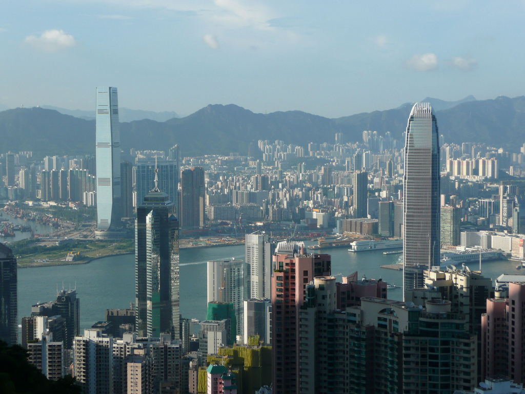 Hong Kong Skyscrapers by bsterling, on Flickr