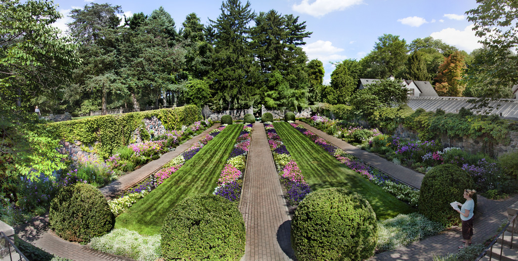 Cranbrook Gardens Panorama by wsilver, on Flickr