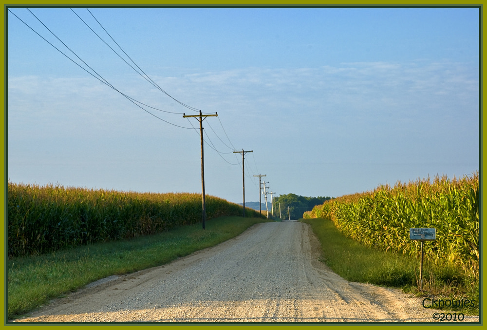 Indiana Country Road by The Knowles Gallery, on Flickr