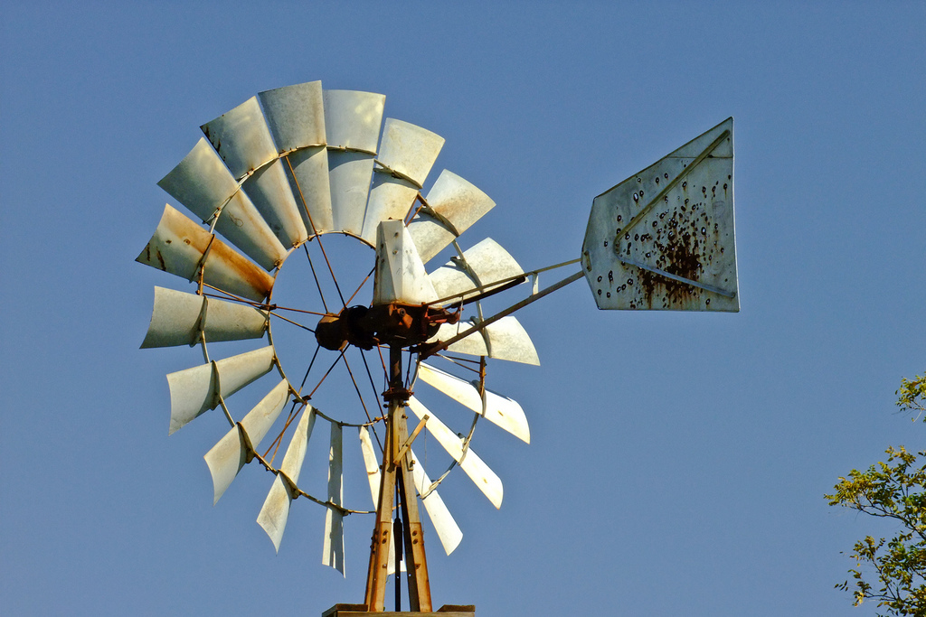 Aermotor windmill by awsheffield, on Flickr