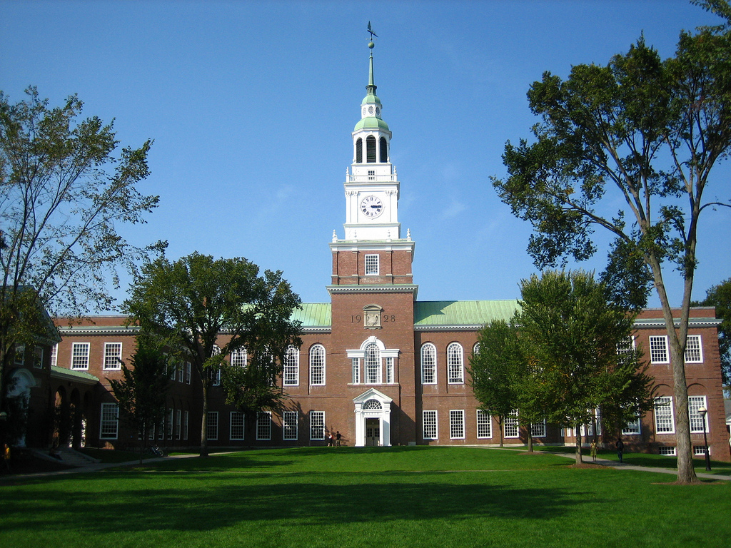Dartmouth College by Amstrong White, on Flickr