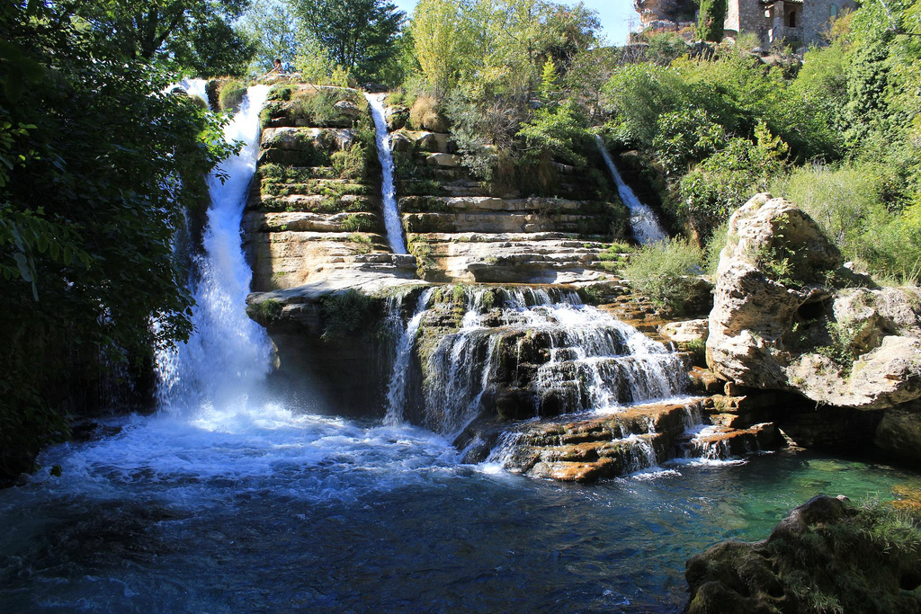 Waterfalls in South of France by londoncyclist, on Flickr