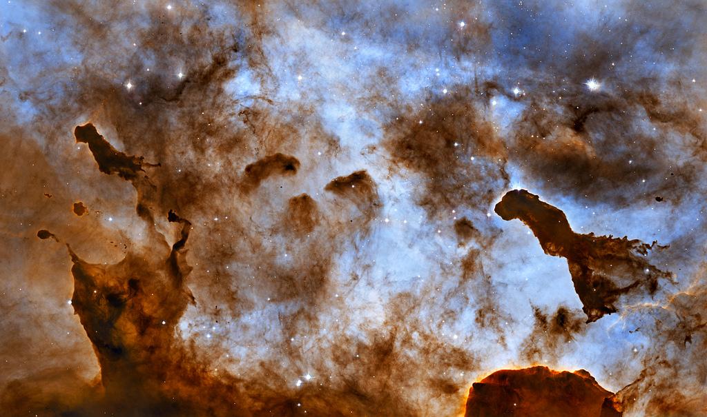 Carina Nebula Pillars by Hubble Heritage, on Flickr