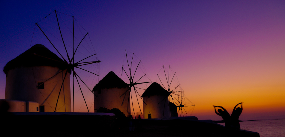Windmills of Mykonos, Greece by hassanrafeek, on Flickr