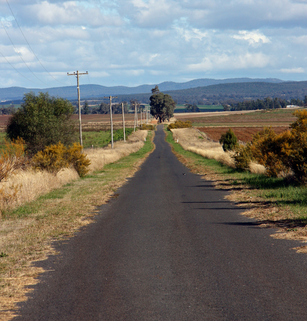 Country road near Dubbo by Tim J Keegan, on Flickr