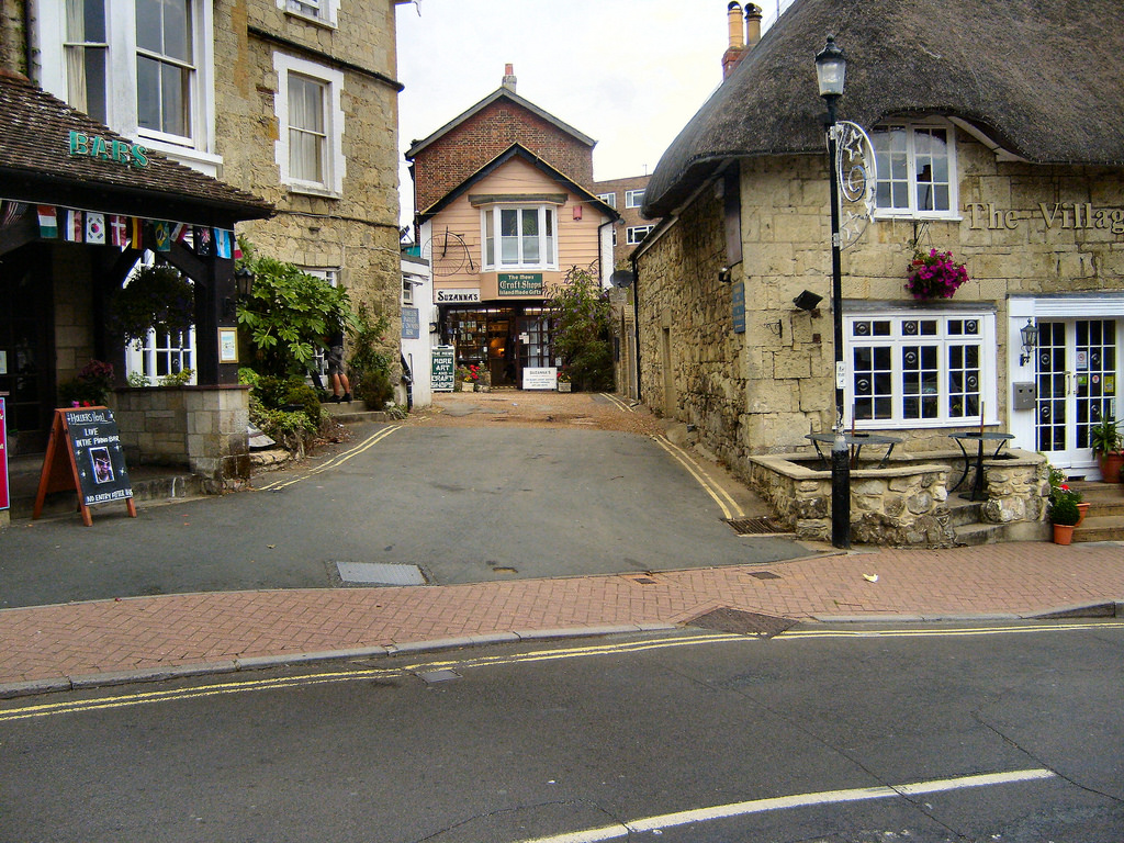 SHANKLIN OLD VILLAGE. by ronsaunders47, on Flickr