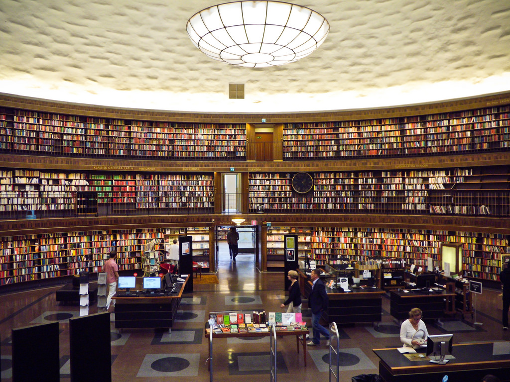 Stockholm Public Library by Smath., on Flickr