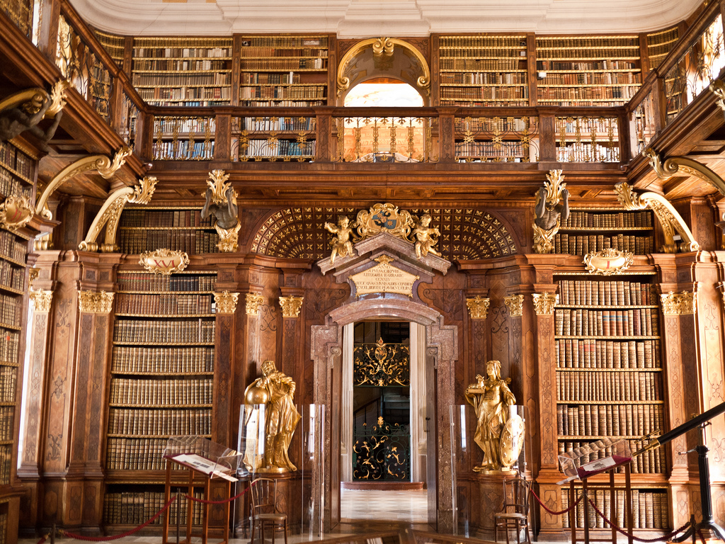 Library of Melk Abbey by jeffhutchison, on Flickr