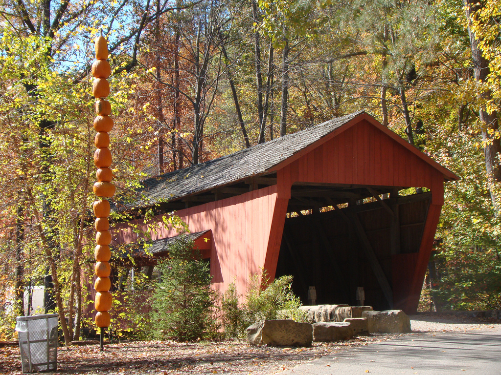 Covered Bridge, Fairfield County, Ohio by VasenkaPhotography, on Flickr