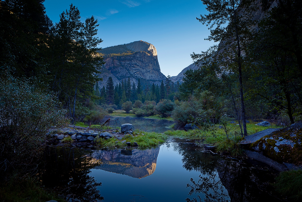 Mirror Lake in Yosemite Velley - a shado by Malcolm Carlaw, on Flickr