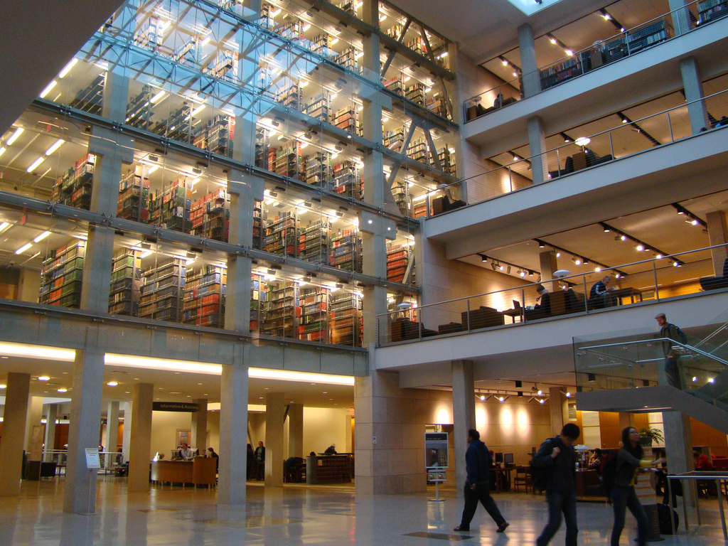 Ohio State University ~ Library by VasenkaPhotography, on Flickr