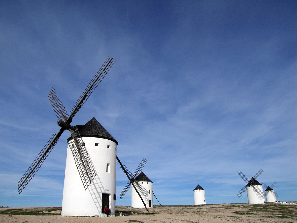 Molinos de viento en Campo de Criptana, by pablo.sanchez, on Flickr