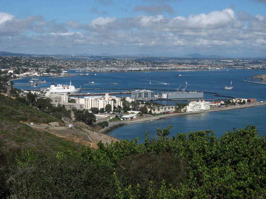 Ballast Point, Naval Base Point Loma fro by Ken Lund, on Flickr