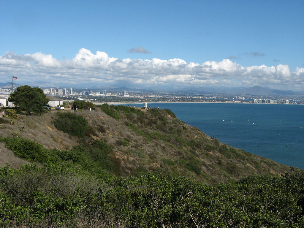 San Diego Bay from Cabrillo National Mon by Ken Lund, on Flickr