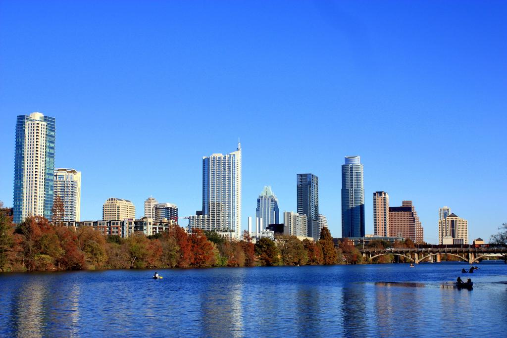 Austin, Texas in autumn by rutlo, on Flickr