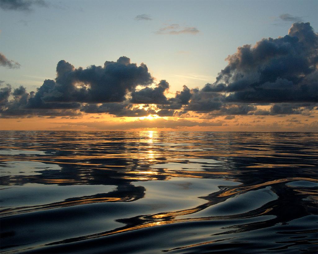 Sunset from Kure Atoll by NOAA