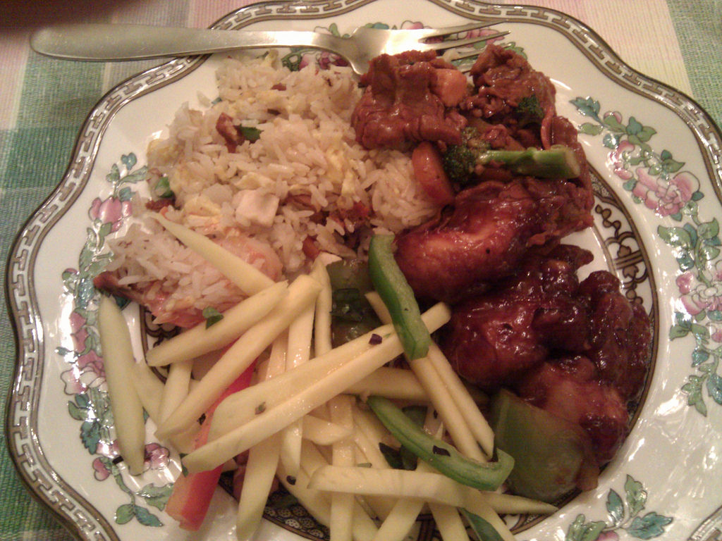 Chinese food for pasty white people. by Andrew Currie, on Flickr