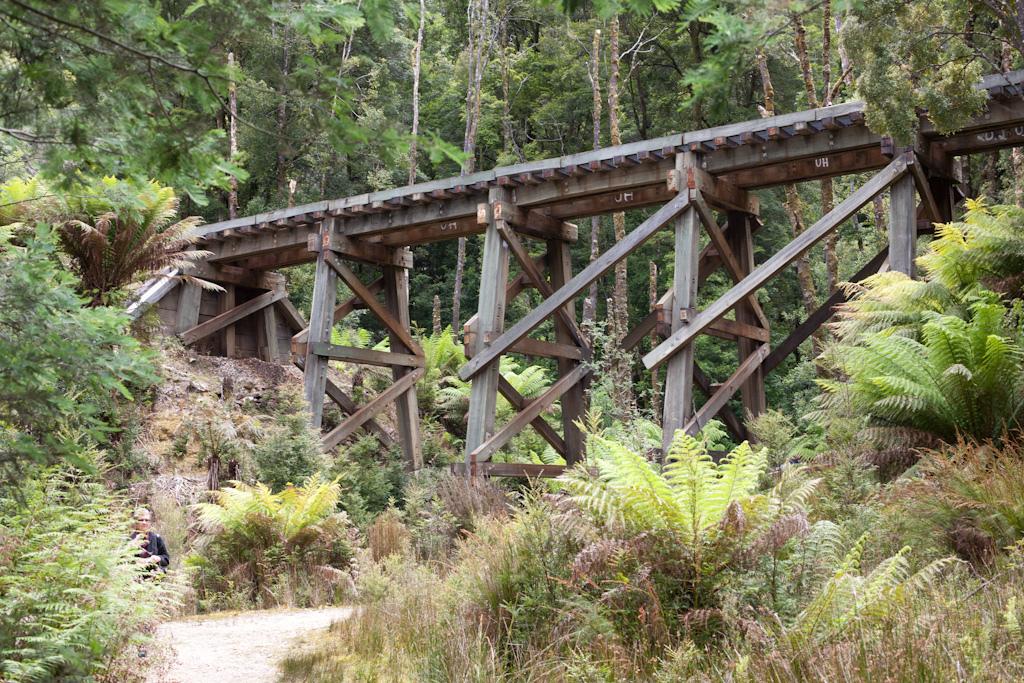 Wooden Trestle Bridge by Charles Haynes, on Flickr
