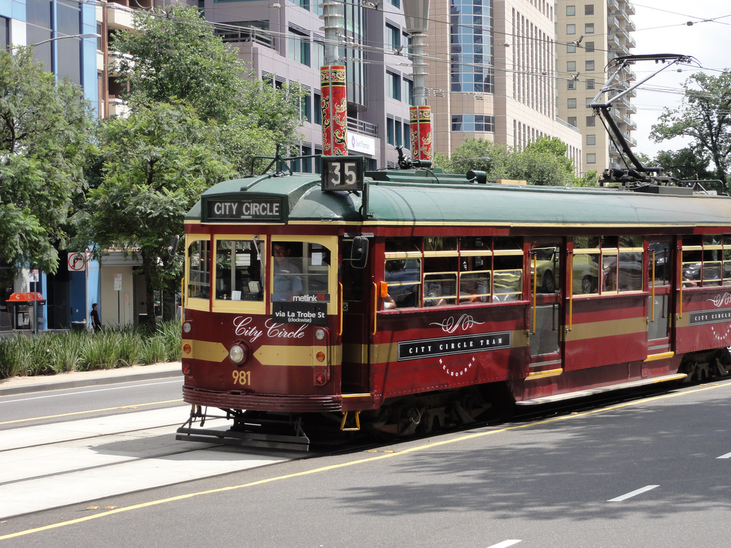City Circle tram by eGuide Travel, on Flickr
