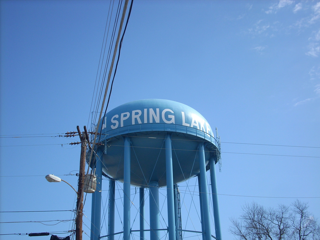 Spring Lake Water Tower by Gerry Dincher, on Flickr