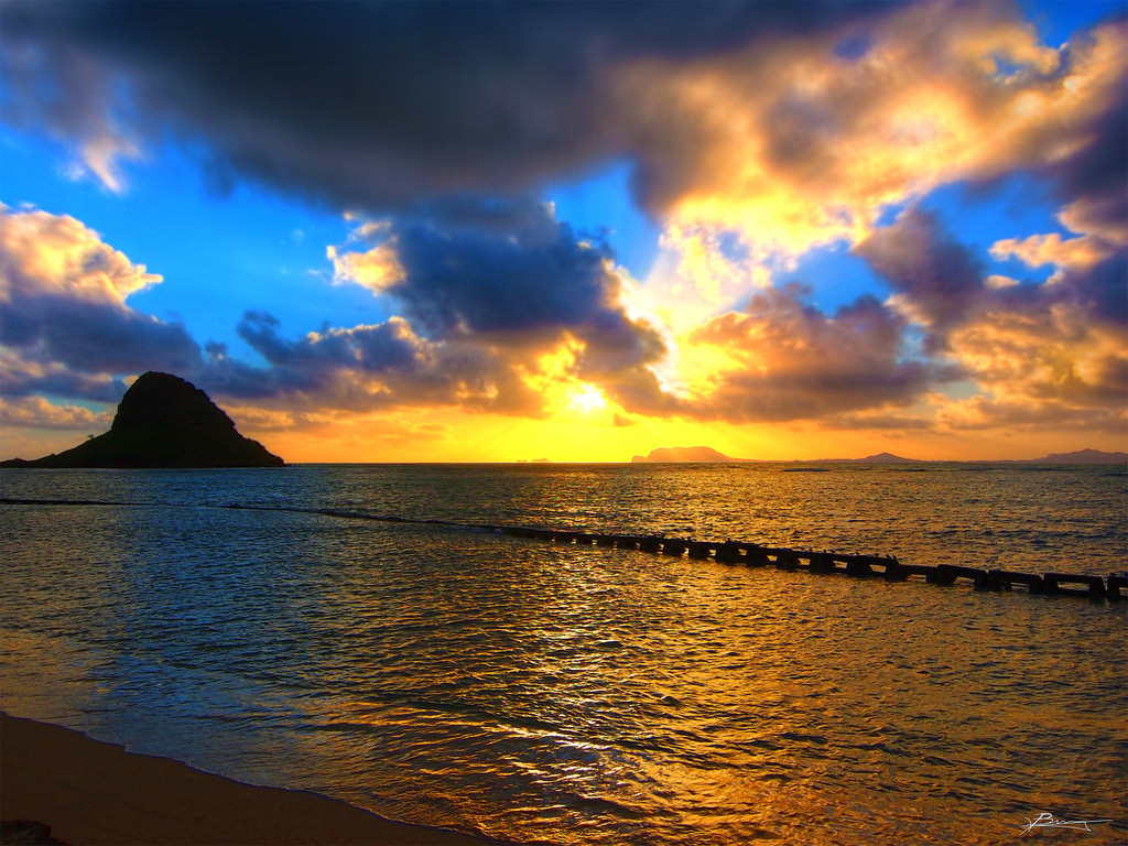 sunrise dream scape by paul bica, on Flickr