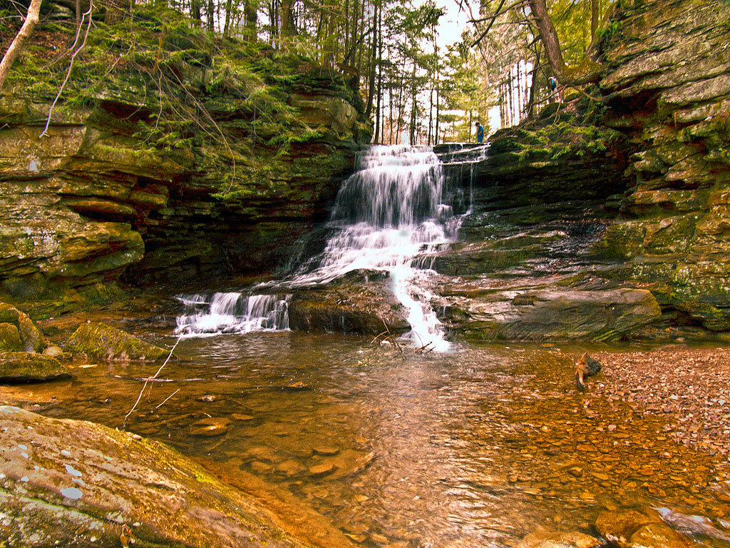 Knox County, Ohio Waterfall. by Mark Spearman, on Flickr