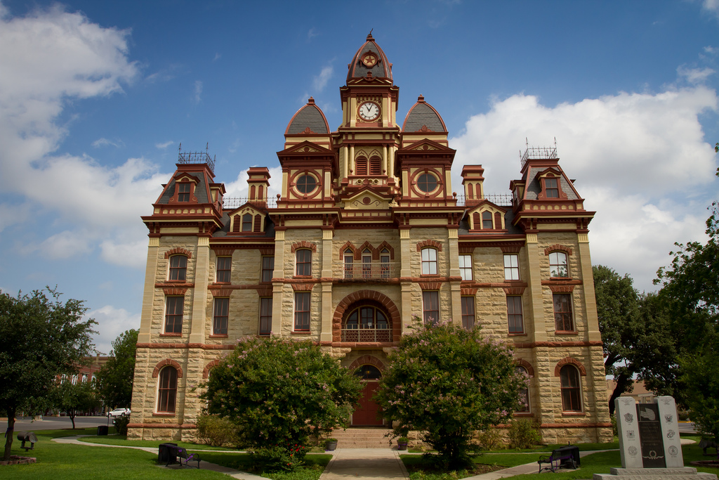 Caldwell County Courthouse - Lockhart, T by StuSeeger, on Flickr