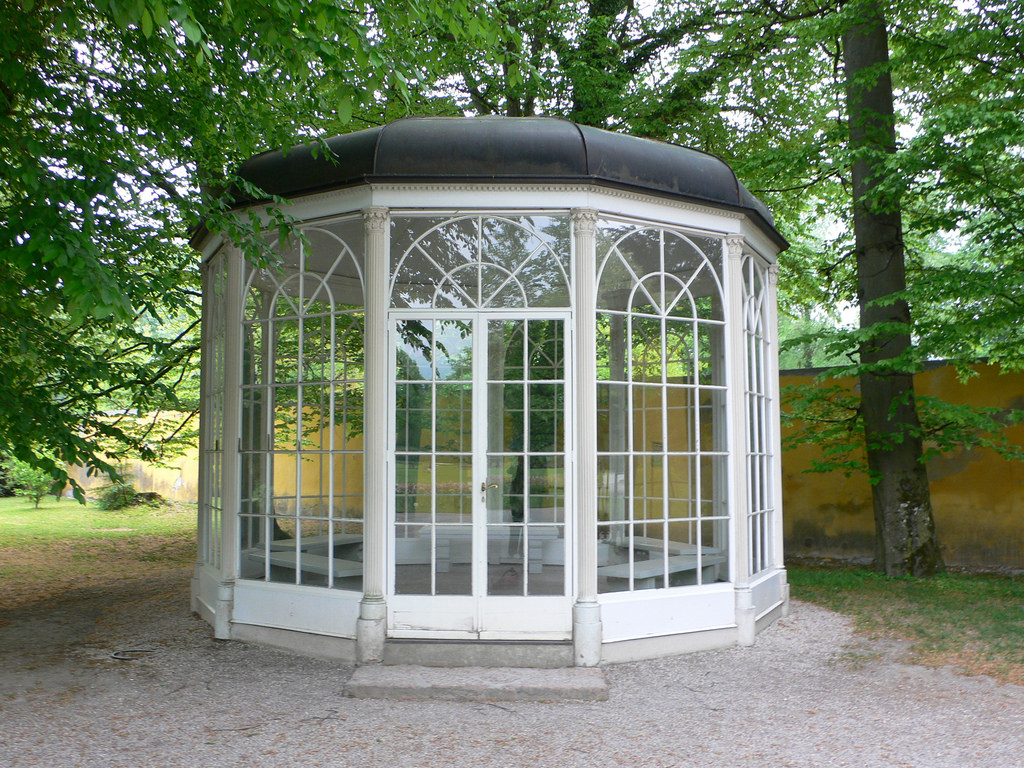 Sound of Music pavilion at Schloss Hellb by heatheronhertravels, on Flickr