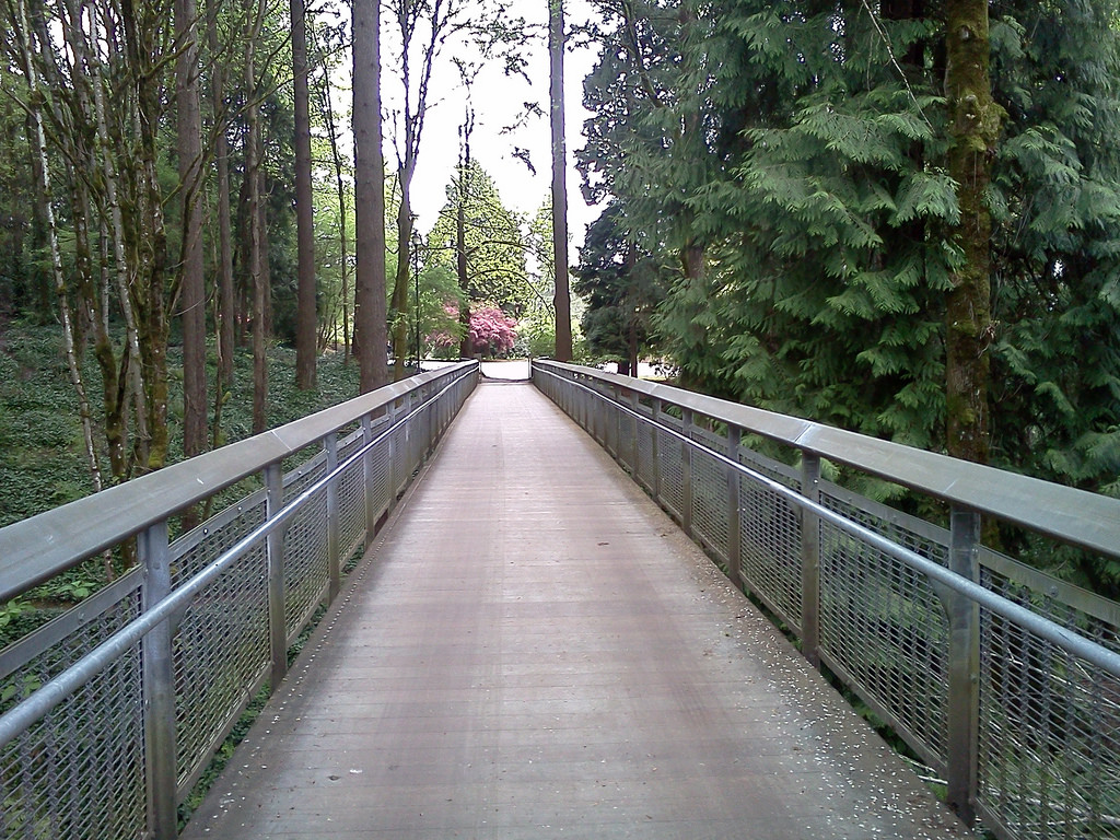 bridge at lewis and clark college by JeremyMcWilliams, on Flickr