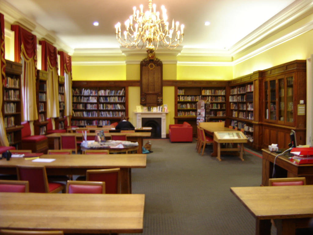 The Memorial Library, Portsmouth Grammar by OP Club Webmaster, on Flickr