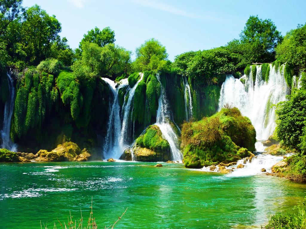 Kravice Waterfalls by Sean MacEntee, on Flickr