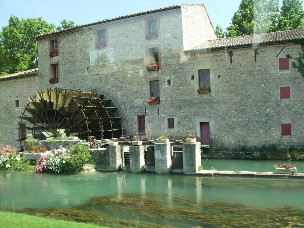 The Luberon - Saint-Pierre Mill near Tai by ell brown, on Flickr