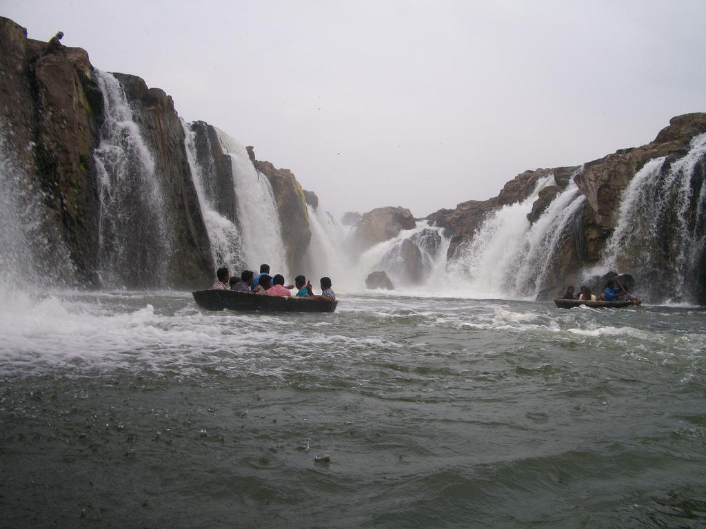The Five Falls, Hogenakkal by xaneem, on Flickr