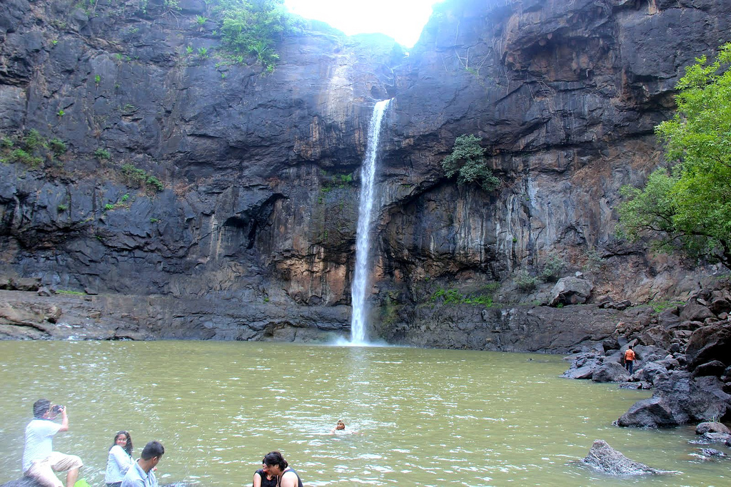 The waterfall at Jawhar by Abhishek_Kumar, on Flickr