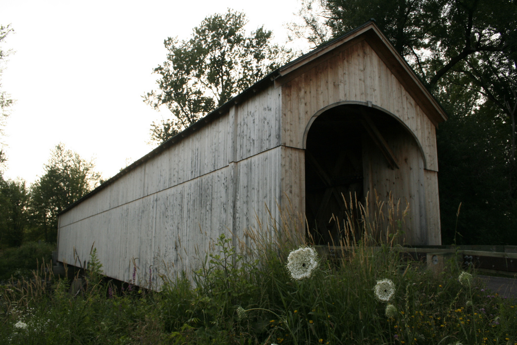 Covered bridge bat site in Vermont by USFWS Headquarters, on Flickr