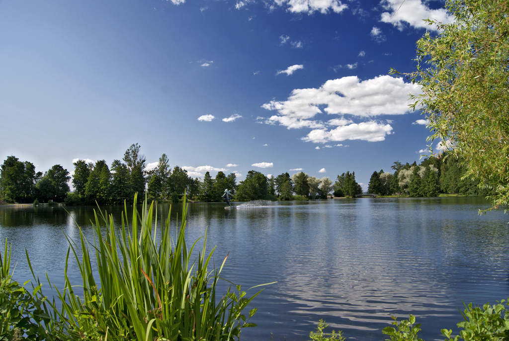 A pond in Lahti by Anton Czernous, on Flickr