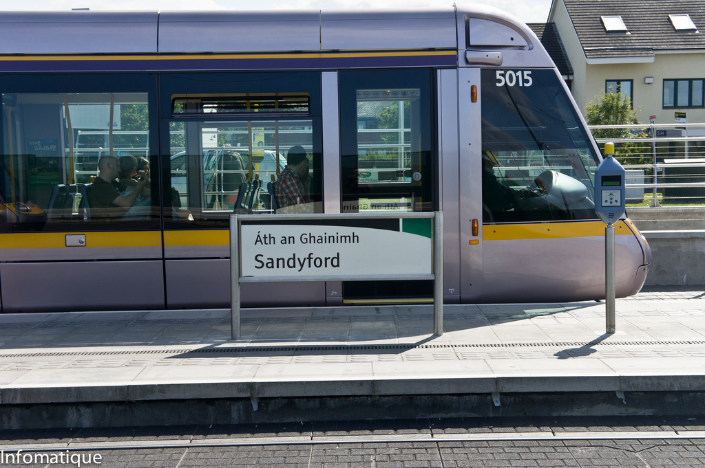 Luas Tram Stop At Sandyford by infomatique, on Flickr