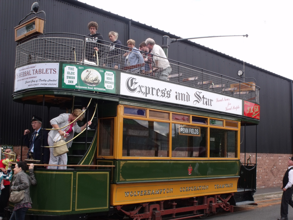 Black Country Living Museum  - Tram 49 by ell brown, on Flickr
