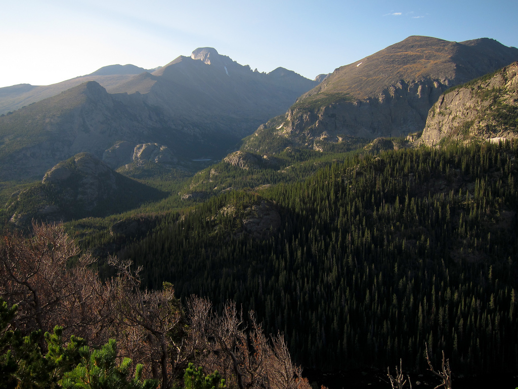 Longs Peak from Rocky Mountain National by MiguelVieira, on Flickr