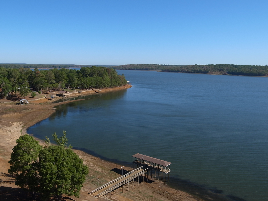 Nacogdoches Lake - Texas Drought by Jeff Attaway, on Flickr