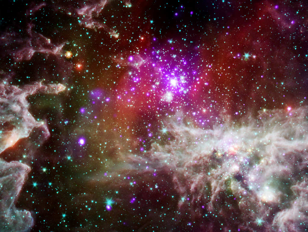 Living the High Life: A nebula with acti by Smithsonian Institution, on Flickr