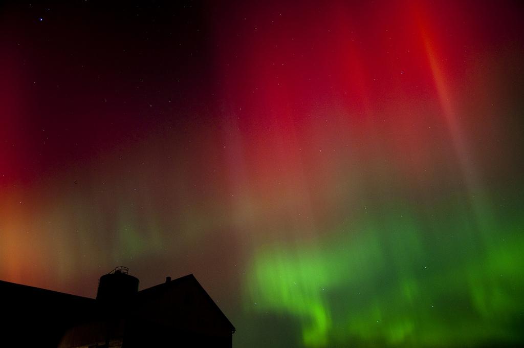 Aurora 1 Oct 24 2011 by David St. Louis, on Flickr
