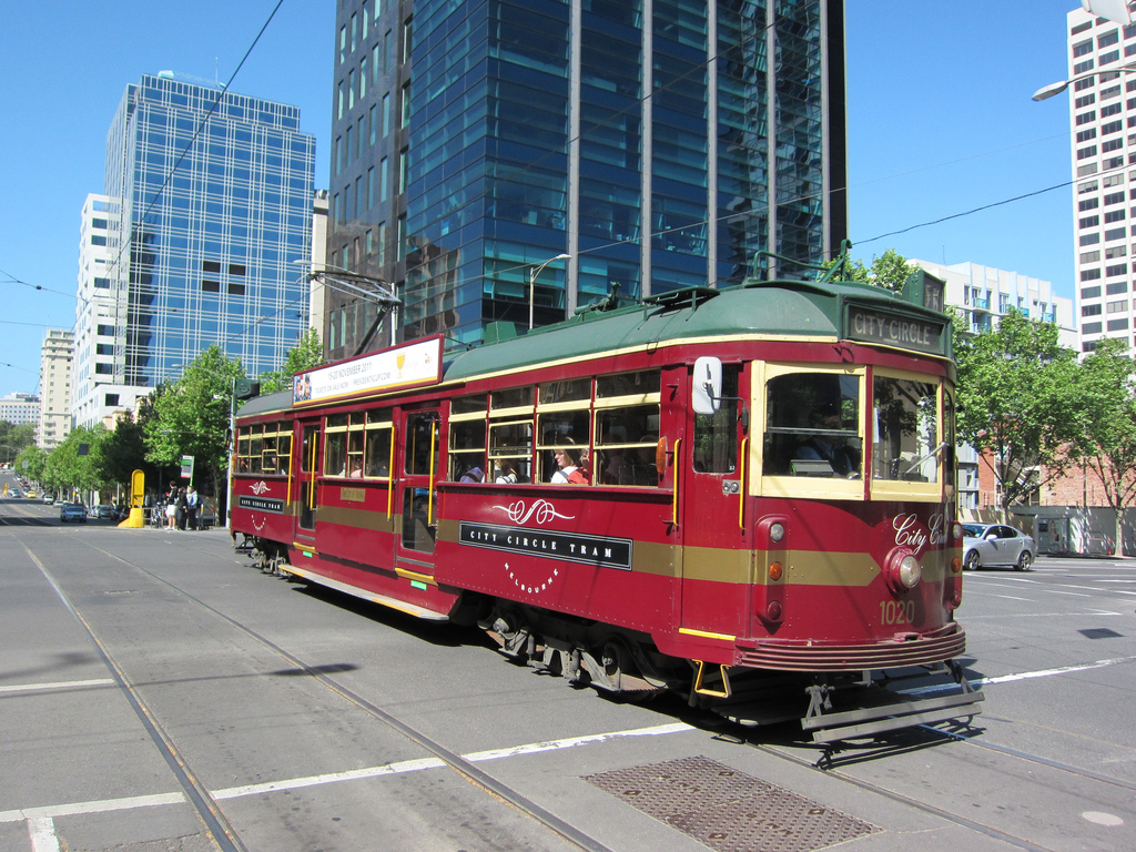 City Circle Tram in Melbourne by Terrazzo, on Flickr