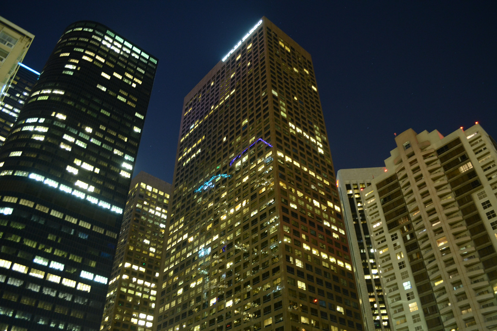 L.A. skyscrapers by Reginald1992, on Flickr