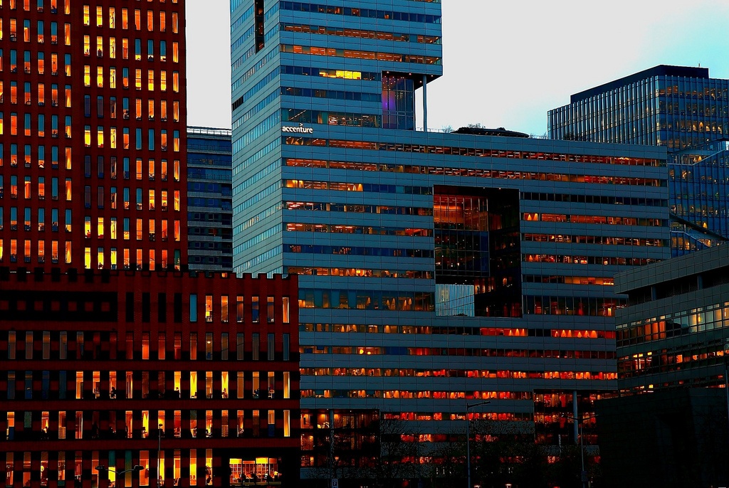 Amsterdam WTC Accenture by franzconde, on Flickr
